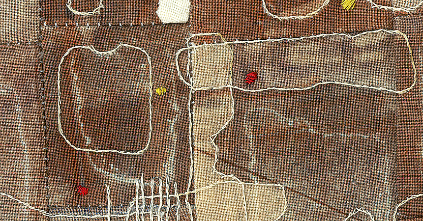 2014_smalltalk1_embroidery_30x24cm_red2_detail